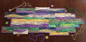 Rippling Bayou Tablerunner